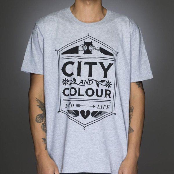 OFFICIAL City And Colour Crest Slim SLIM FIT T Shirt NEW Licensed Band Merch A Humor Shirts Offensive T Shirt From Linnan00003, $14.67| DHgate.Com