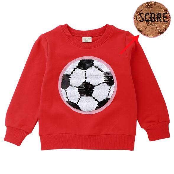 футбол красный