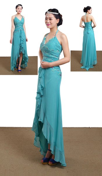 Stock In Stock 2018 Bridesmaid Dress Chiffon Knot Junior Two Shoulder Straps Evening Dresses Formal Dress Bridal Gown Bridal Dress