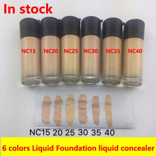 Marca M Base líquida Corrector facial MATCHMASTER Base facial Base 35 ml NC15 NC20 NC25 NC30 NC35 NC40 6 colores Cosméticos para la cara