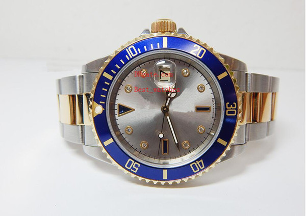 Factory Supplier Luxury Sapphire 40mm Ceramic Two Tone Gold 116613 116613LB Automatic Mechanical Mens Men's Watch Watches