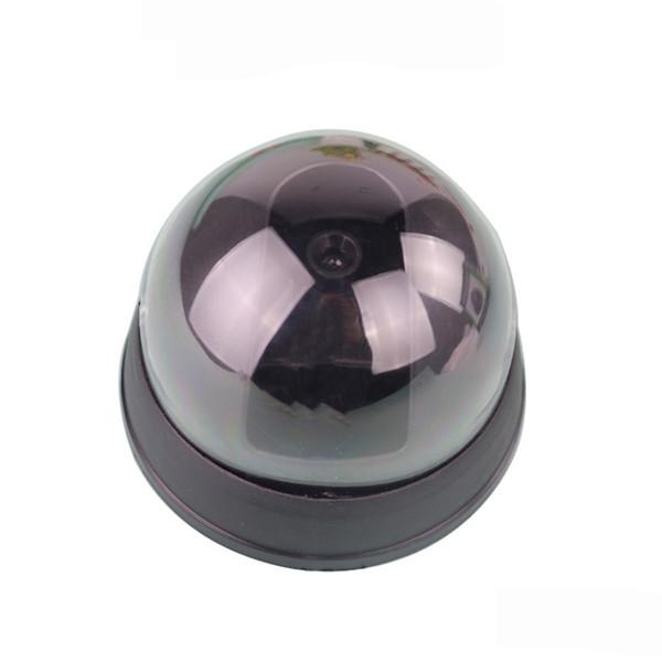 Dummy Fake Simulation Dome Security CCTV Camera Hemispherical Led Analog Camera Monitor With False IR LED + Red Activity LED Light 70*90*90M