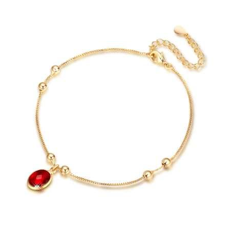 Vintage Fashion Anklets For Women Stainless Steel Shoe Boot Chain Bracelet Foot Jewelry J11