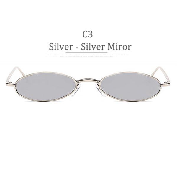 C3 Silver Frame Silver Miror