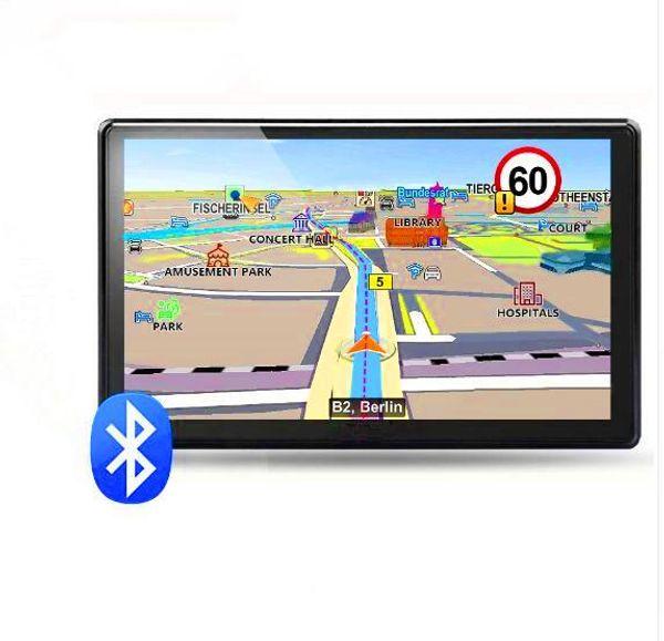 7 inch Car Bluetooth GPS Navigation FM MP3/MP4 Players North America Europe 3D Map Free Upgrade Truck gps navigators Sat nav automobile