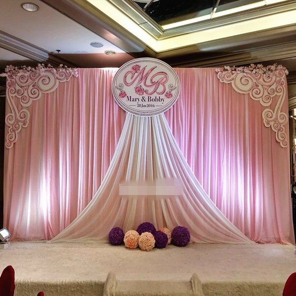 2019 Express 3x6mtr Wedding Stage Backdrops Decoration Romantic Custom Design Wedding Curtainphotography Background From Bestller886 15578