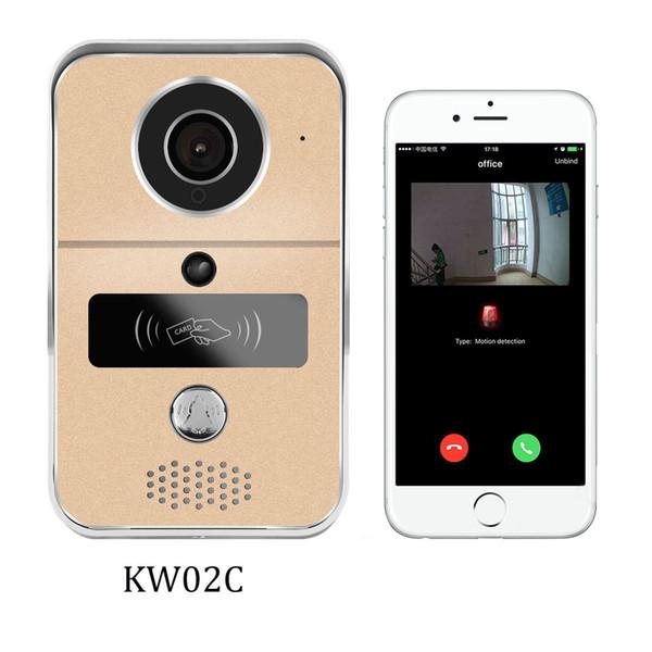 NEW RFID Smart Wireless WiFi Remote Doorbell Enabled Phone Video Camera Ring Home Security Door Intercom