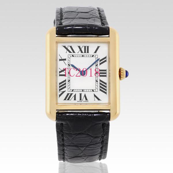 Мода Роскошные Часы Кожаный Ремешок Мужчины Женщины Часы Золото Кварцевые Дамы Платье Наручные Часы Часы Montre Femme Reloj