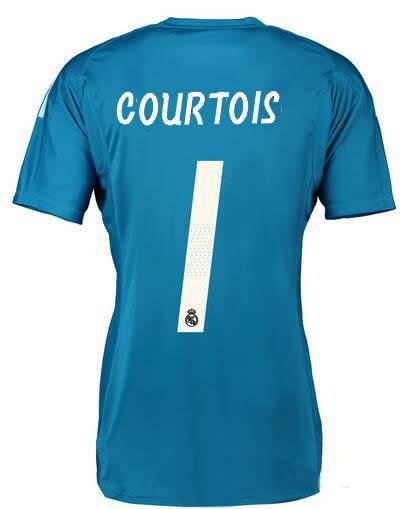 Maillot Extérieur Real Madrid Courtois