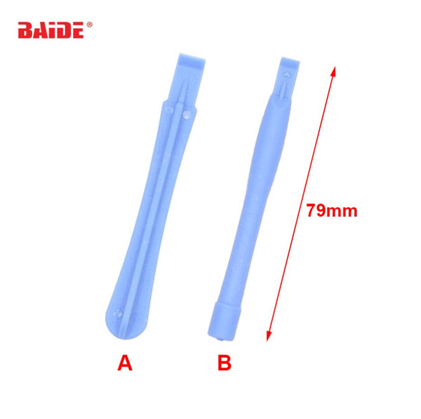 Plastic Light Blue Pry Tool Crowbar Open Shell Housing DIY Repair Tools for Cell Phone iPhone LCD Screen Opening 2000pcs/lot
