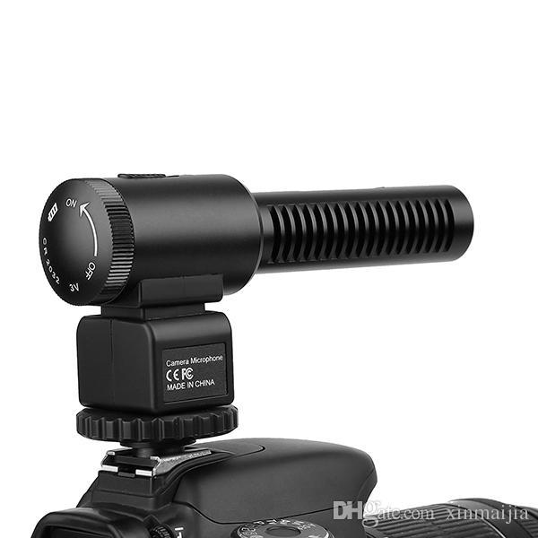 DSLR-Kamera-Mikrofon Professionelle Fotografie Interview Wired Mic für Nikon Canon Record Video Studio Camcorder