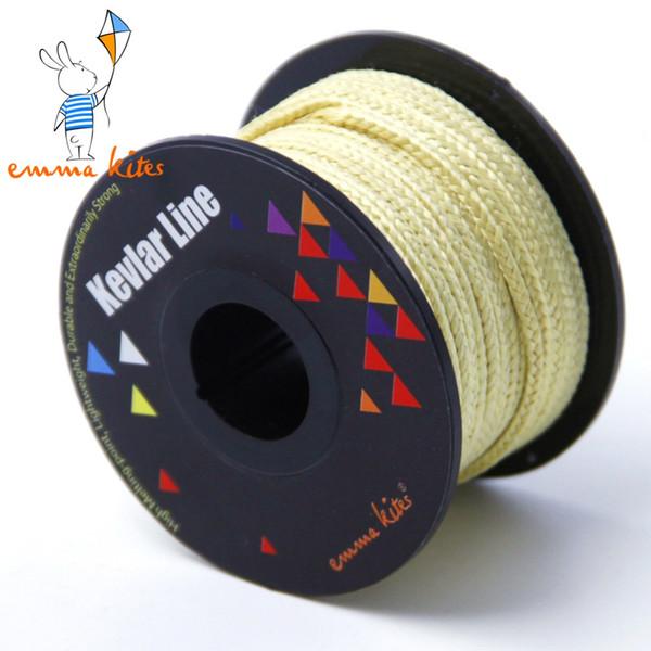 100ft /30m of 500LB Kevlar Fiber Large Kite Line String Braided Kevlar Line Outdoor Fishings Camping Cord