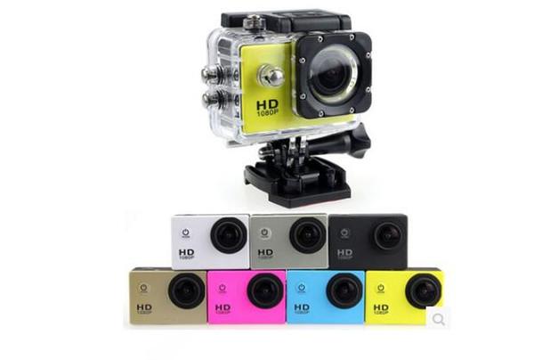 1 unids SJ4000 1080 P Full HD Action Digital Sport Camera 2 pulgadas de pantalla bajo prueba de agua 30 M DV Grabación Mini Sking Bicicleta Foto Video Cam