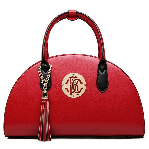 Luxury Lady Shoulder Bag Handbags Women Bags Girl Tote Bags Sweet Handbag Fashion Ladies Famous Brand Red Black Solid Cross Hand Bag