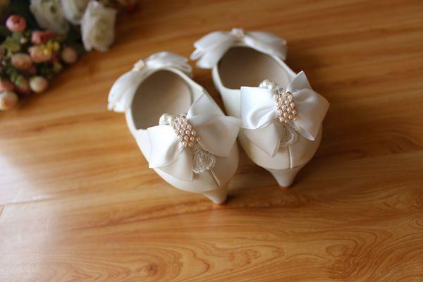 White 3cm Heel High