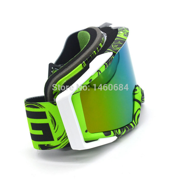 Evomosa Motorcycle Sunglass Goggle Protective Gears Flexible Motorcycle Glasses Motocross MX Tinted UV Goggle for ktm