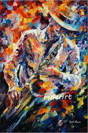 handpainted good quality knife canvas art wholesale music paintings on canvas wall art home decoration unique gift Kungfu Art