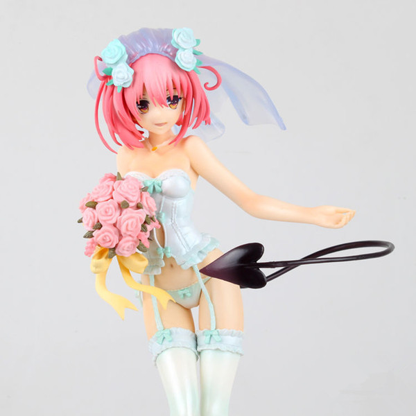 Action figure To Love Momo Belia Deviluke lovely sexy cartoon cute doll PVC 25cm box-packed japanese figurine world anime