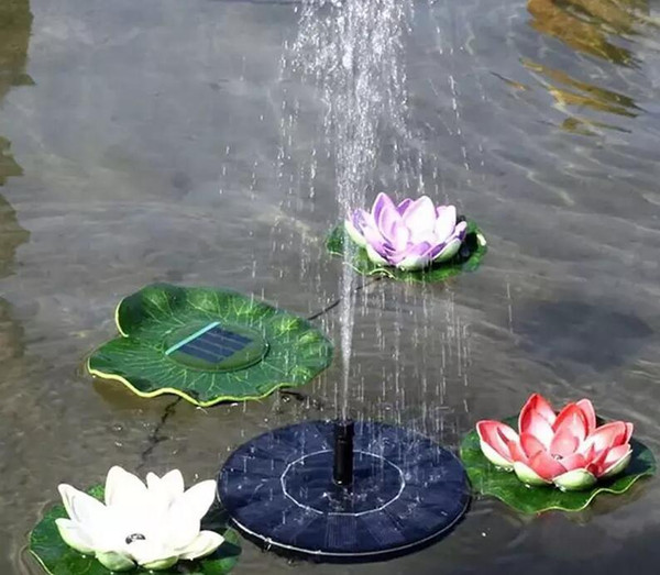 160 mm Solar Energy Spring water pump Panel Kit FountainPool Garden Pond Submersible Watering Display Solar Power Auto-spring