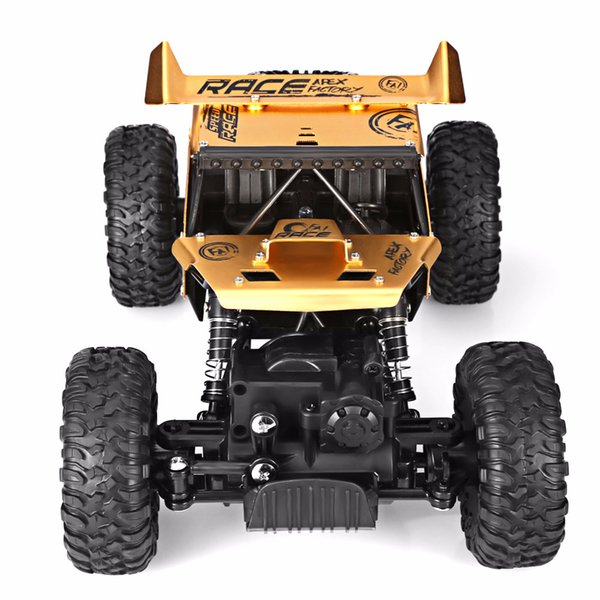 Alloy cross-country climbing car manufacturers selling electricity blasting electric model car remote control car toys for children