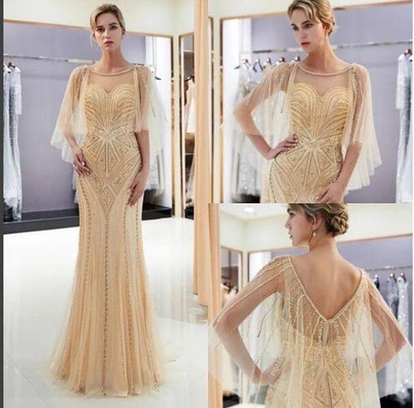 Mermaid Tulle Elegant Evening Formal Dresses 2019 Bling Long Plus Size Prom Dresses China Cheap Free Shipping
