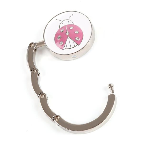Hot Sale Bag Hook Portable Foldable Folding Metal Clothing Purse Hook Handbag Holder Shell Bag
