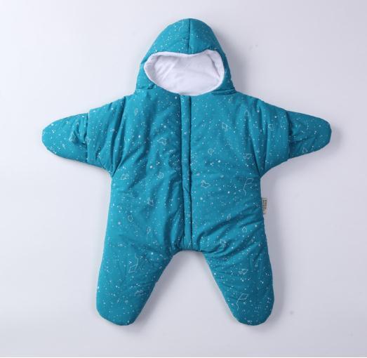 Baby Schlaf Sack tragbare Decke Starfish Windeln Schlafsack Nest Nachthemden Bunting Neugeborenen Starry