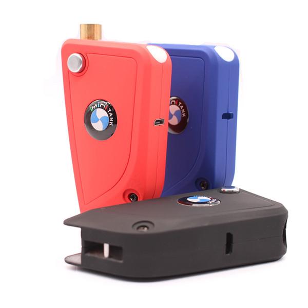 Аккумуляторная батарея для автомобиля «Инини» 650mAh Vape Mods 3 Color Fit 510 Vape Cartridge Vaporizer Функция предварительного нагрева переменного тока Наборы стартеров батареи