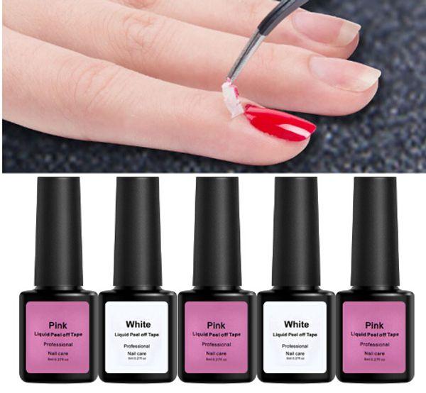 Peel-off Novidades fita Prego Design Tudo para instrumentos de manicure Primer Gel laca Acessórios Foil Nail Art cola líquida
