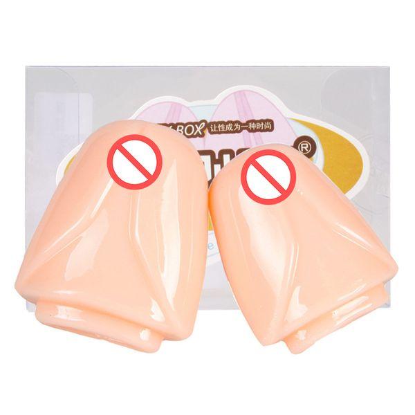 top popular Adult Product 2pcs set penis sleeve pumps extender enlargement male masturbation glans hat enlarge penis sex toy for men 2021