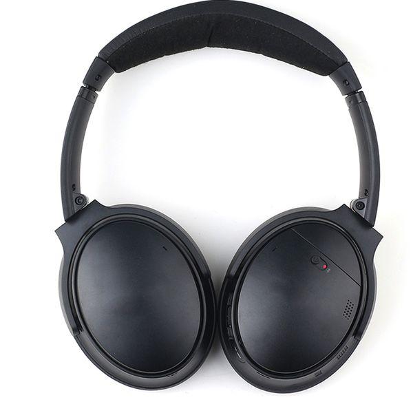 BO QC - 35 Bluetooth-Funkkopfhörer Akustisches Noise Cancelling-Headset Schwarzes Mikrofon in Farbe Farbe Rechar geable Guter Stereo-Kopfhörer