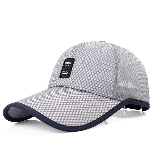 5086f3c6fe3 2018 Unisex Sports Cap Mens Womens Casual Cap For Fishing Outdoor Baseball  Cap Long Visor Summer