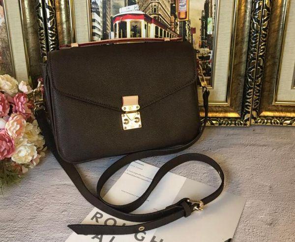 2017 Free shipping high quality women Messenger bag leather women's handbag pochette Metis shoulder bags crossbody bags M40780