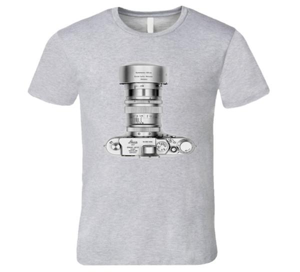 silver leica camera, classic elegance T Shirt colour jurney Print free shipping t-shirt Cool xxxtentacion