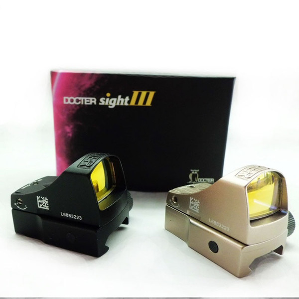 Docter Iii Sight 3 Mini Red Dot Sight Reflex Holographic Dot Auto