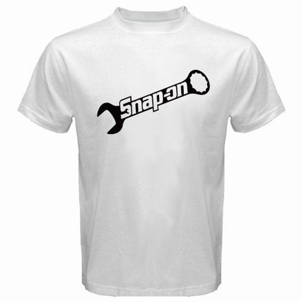 New Snap On Tools Logo Automotive Tools Men's White T-Shirt Size S-3Xl T-Shirt Men Man's Plain Short Sleeve Fashion Custom XXXL Group