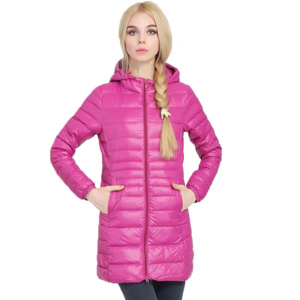 Down Jacket Women Brand Designer Winter Warm Jackets Women's Long Light White Duck Down Jacket 5XL 6XL Ultralight Hooded Coats