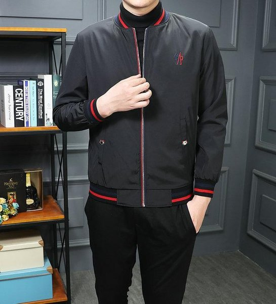 Men Coat For Sale 2018 Fashion Casual Outdoor New Soccer Sport Suit Brand Design Jacket Long Sleeve Zipper Sportswear