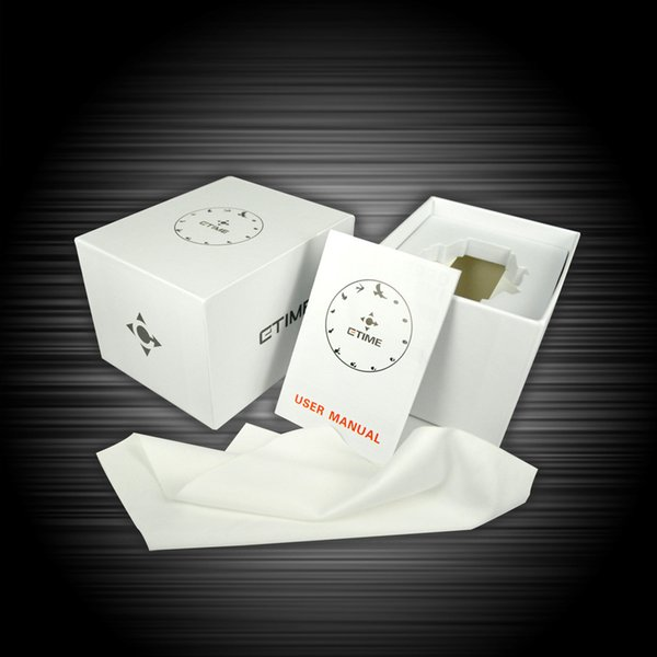 CTIME Original Fashion Watch Box Best Protection and Package Paper Box