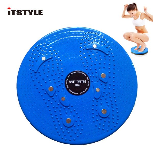 ITSTYLE Twister waist plate Disk magnet plate twist disk slimming legs fitness equipment Magnet waist wriggle Twist Board