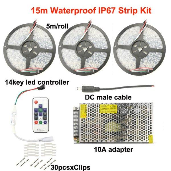 15m IP67 Strip Kit
