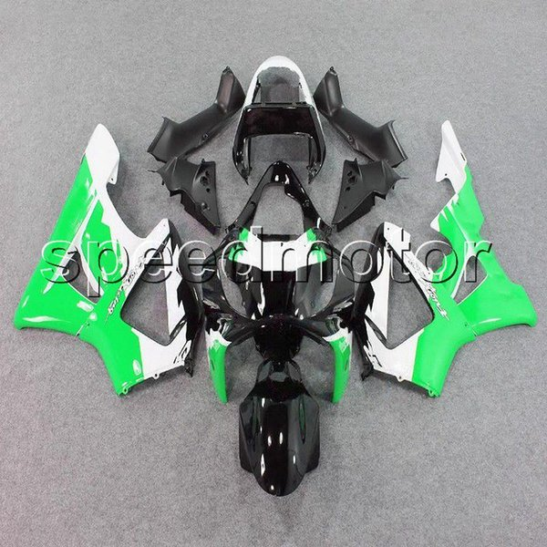 colors+Gifts Injection mold green black motorcycle cowl Fairing for HONDA CBR900RR 2000 2001 CBR929RR 00 01 ABS plastic kit