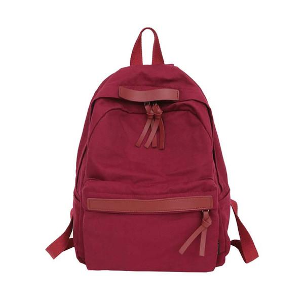 MASEPHILI High Quality Women Canvas Backpack Teenage Girls Leisure Backpack Bag Vintage Stylish Female School Bookbag Mochilas