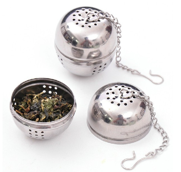 Made in China 304 Stainless Steel Tea Ball Infuser, Bulk Price Round Metal Tea Infuser on Promotion