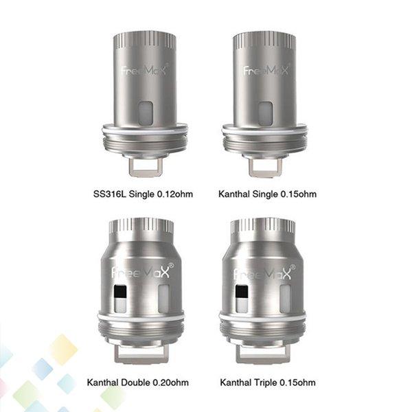 Original Freemax Mesh Pro Coil Replacement Tank Coils Kanthal SS316L Double Triple Single Mesh Core Head Ecig DHL Free