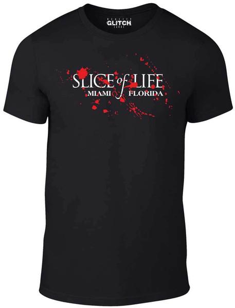 Details zu Men's Slice of Life T-Shirt - GIFT SERIES DEXTER TV BOX SET DVD BOAT HARBOUR