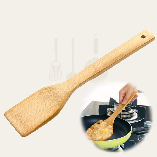Bamboo Spoon Utensil Kitchen Wooden Cooking Tools Spoon Spatula Kitchen meal Tools NEW 2018