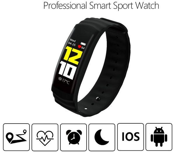 P2 professionnel bracelets intelligents montre de sport smart trackers écran tactile fréquence cardiaque étanche bande sos bracelet pulseira