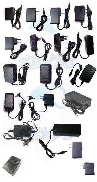 Power adapter US/UK/AU/EU Plug AC/DC charger Power Adapter AC 100-240V DC 12V 1A 9V 1A 6V 5V 1A