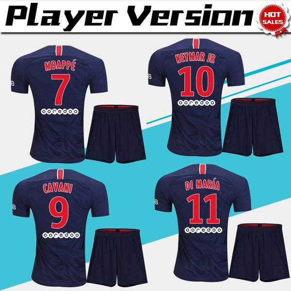 566b029d5 player version suit  10 NEYMAR JR PSG home Soccer Jersey suit 18 19 home  Soccer
